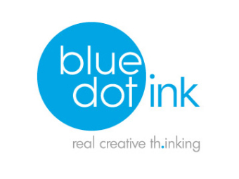 Blue dot ink